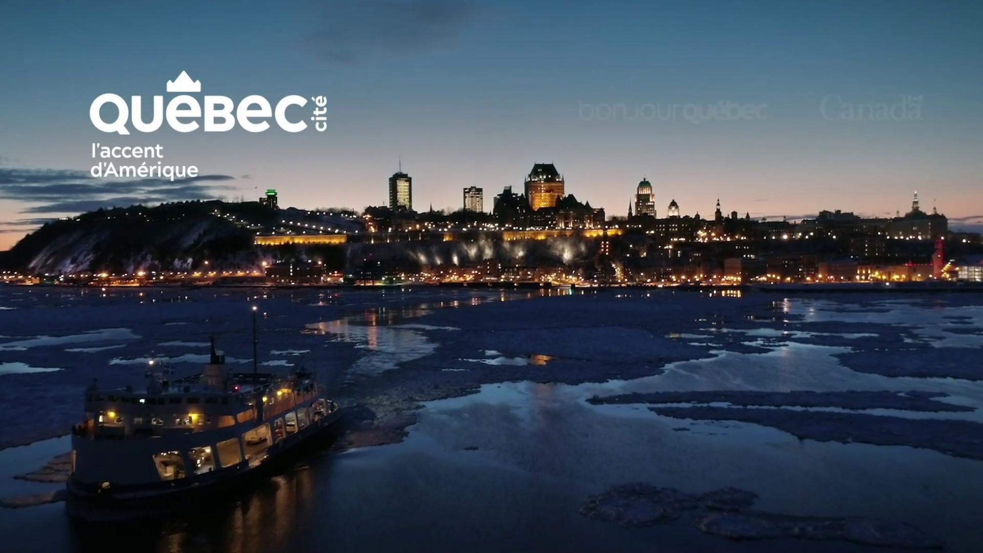 Visit Us Later Campaign by Quebec City Tourism
