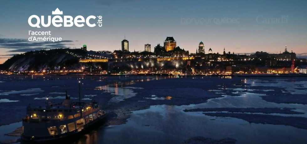 Visit Us Later Campaign by Quebec City Tourism