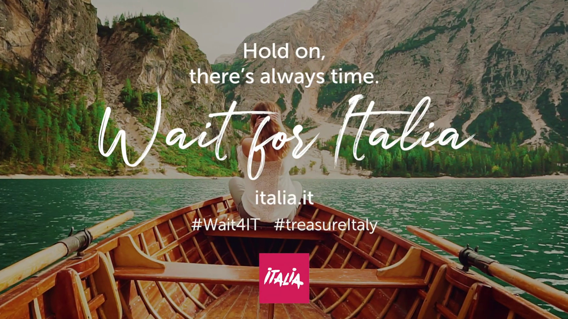 Wait for Italia Tourism Campaign, Italy