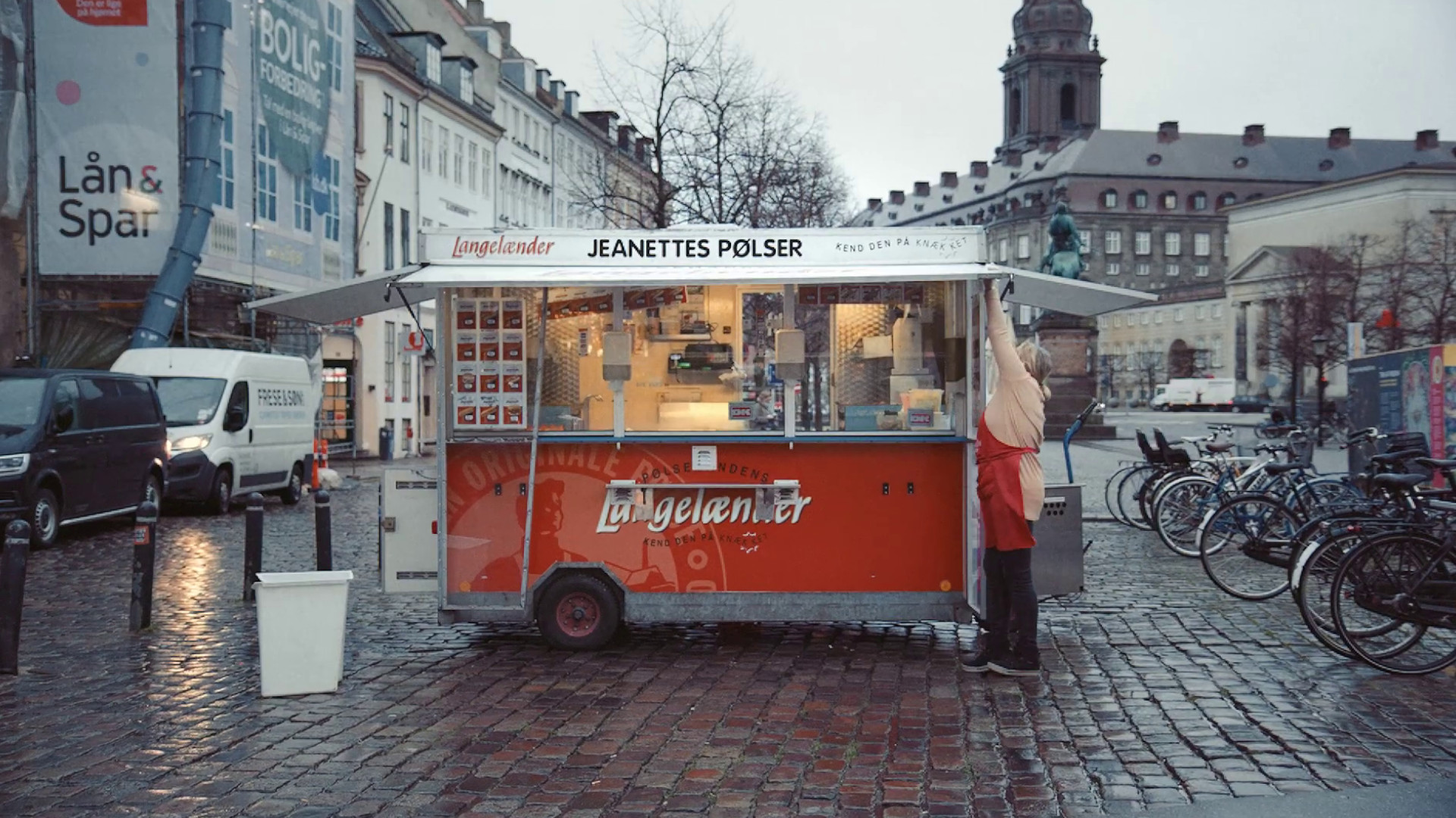 100 Years of The Hot Dog Stand in Denmark Campaign