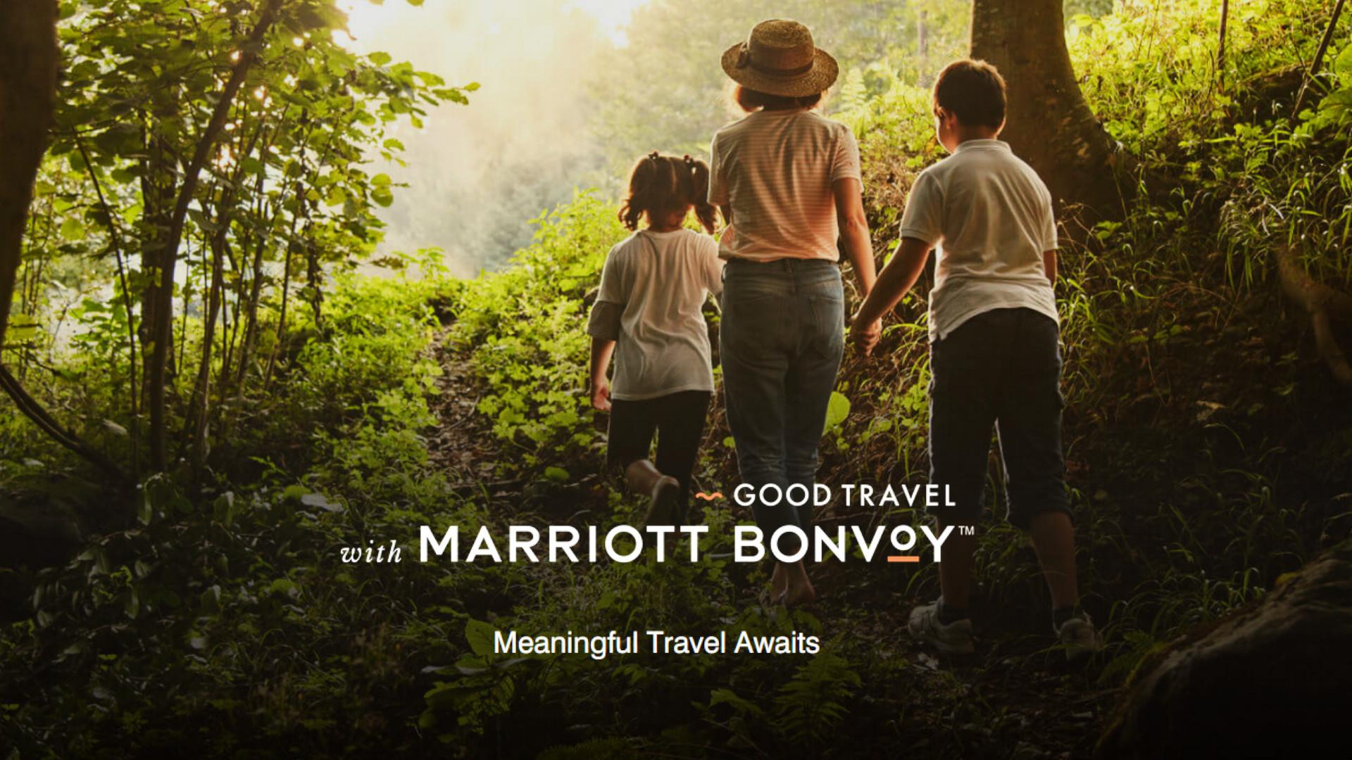 Goof Travel with Marriot Bonvoy Program
