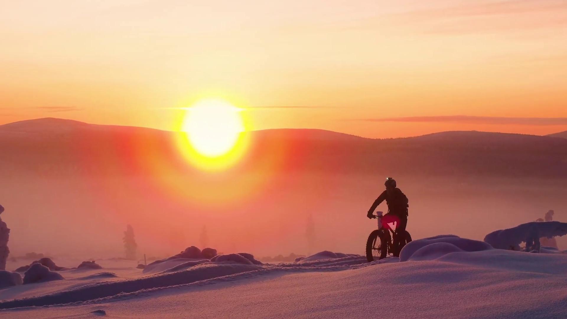 Mountain Biking in Finnish Lapland, Finland