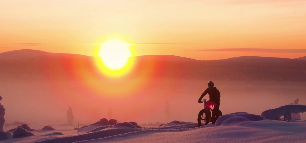 Mountain Biking in Finnish Lapland, Finland