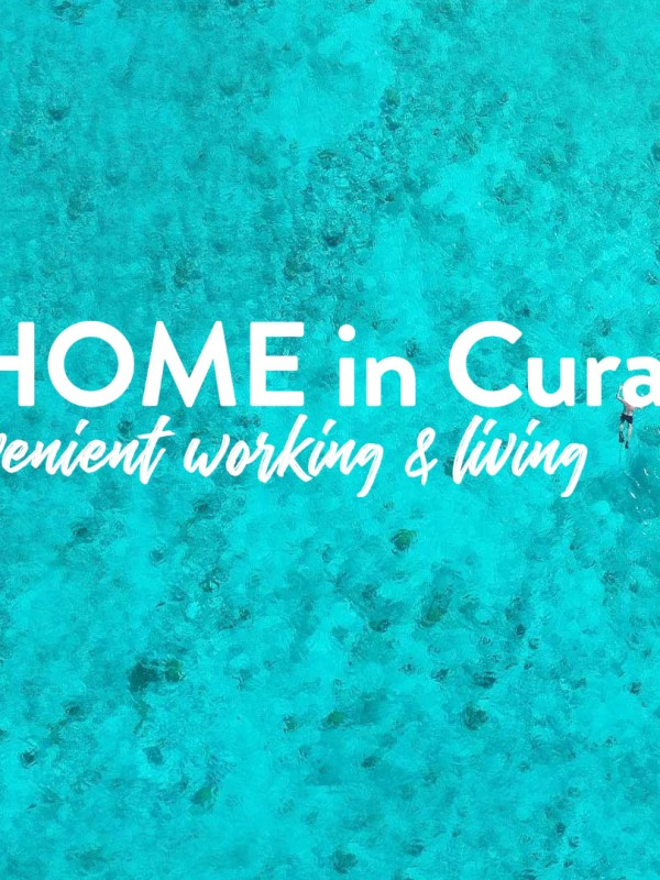 Remote Working Campaign, At Home in Curacao