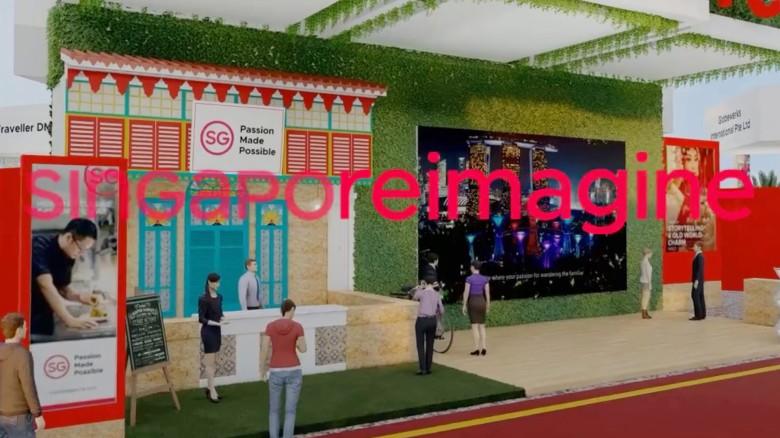 SingapoReimagine MICE Virtual 3D Trade Show
