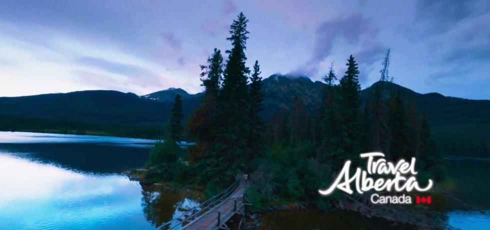Travel Alberta FPV Drone Video Campaign, Canada