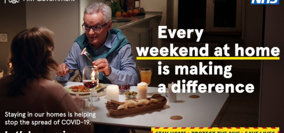 Weekend Stay at Home COVID-19 Campaign, UK