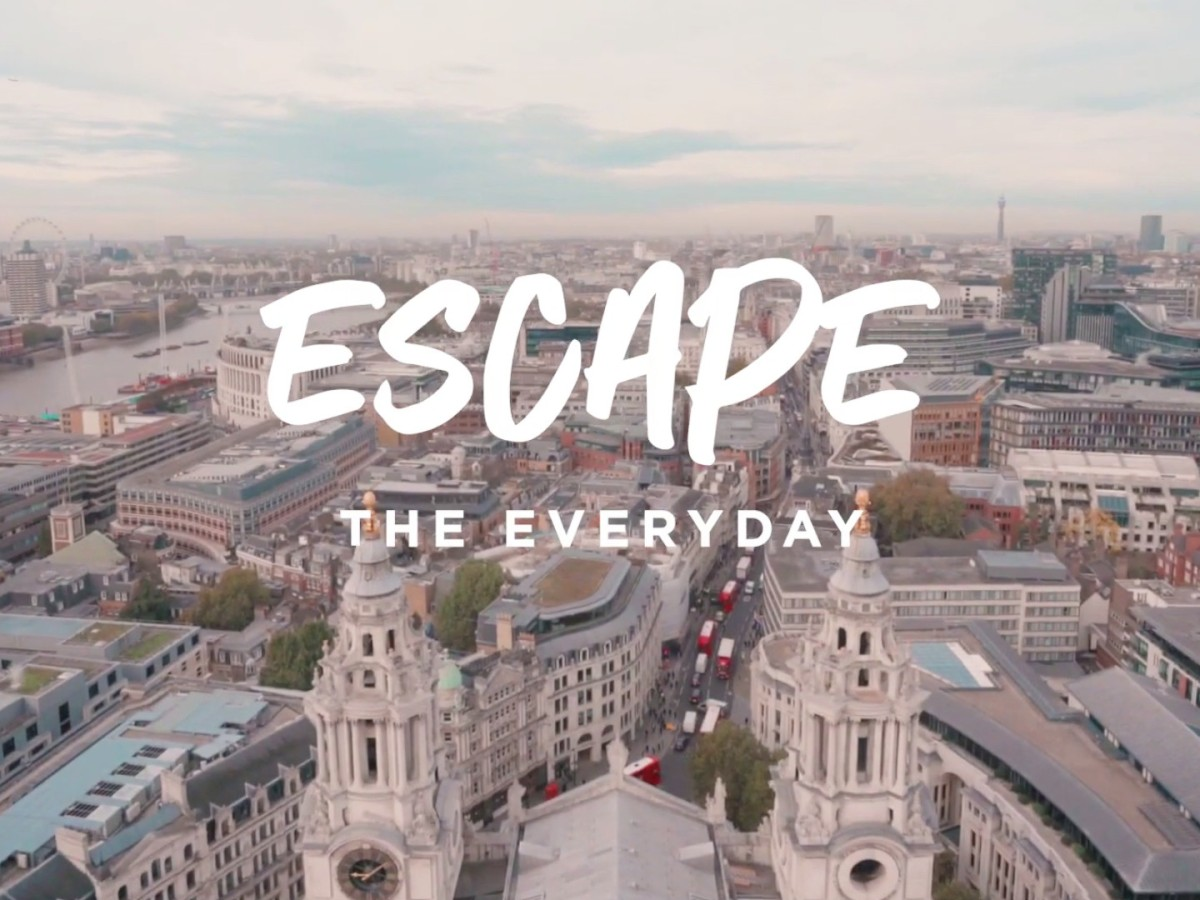 Escape The Everyday, Autumn 2020 Campaign by Visit Britain