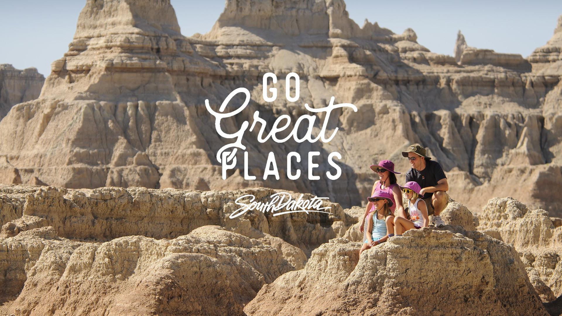 Go Great Places Campaign of South Dakota Tourism