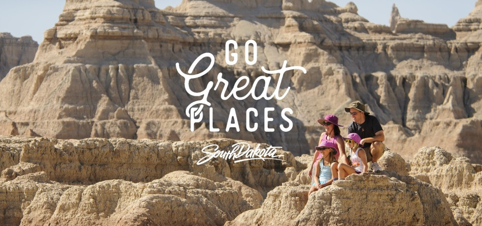 Go Great Places Campaign of South Dakota Tourism