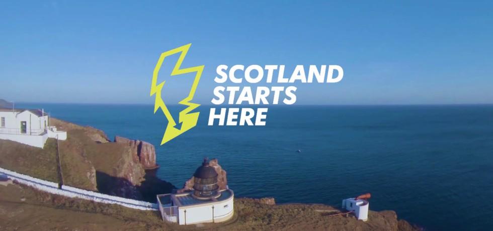 Scotland Starts Here Campaign, South of Scotland Destination Alliance