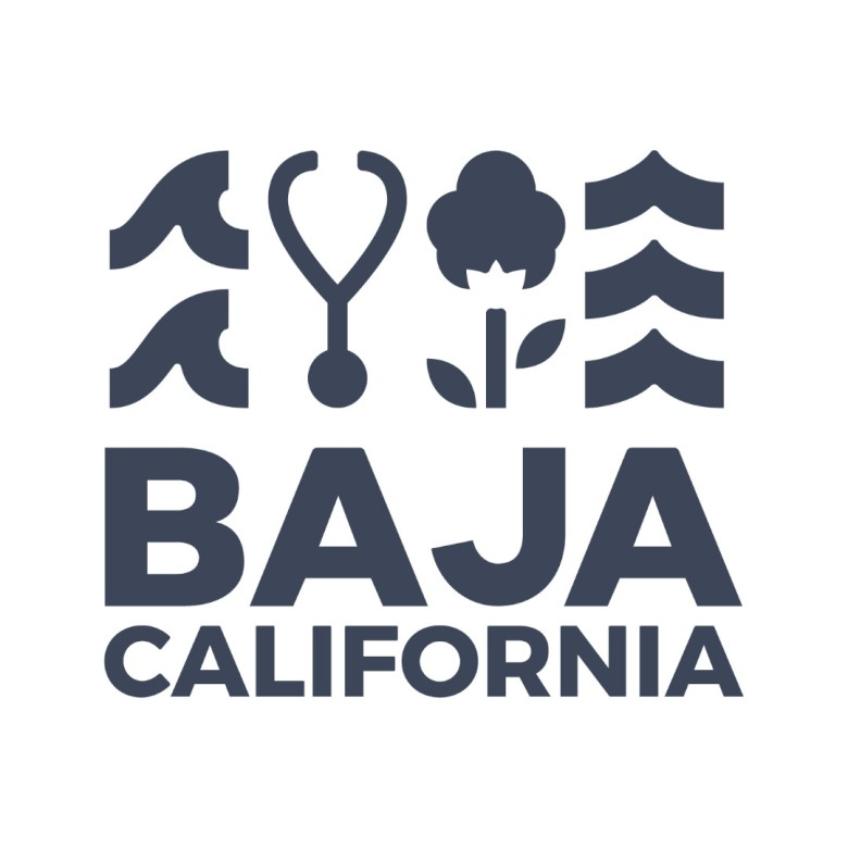 Baja California Logo Rebrand, Medical Industry