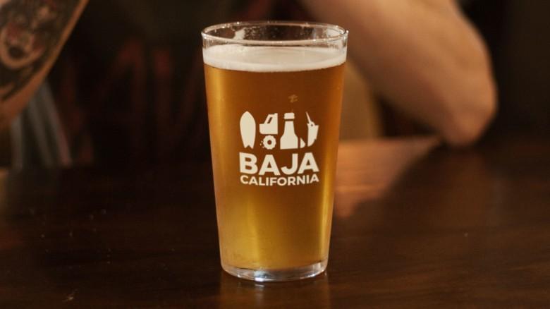 Baja California Rebrand, Merchandise Beer Glass