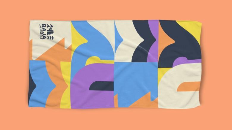 Baja California Rebrand, Merchandise Towel