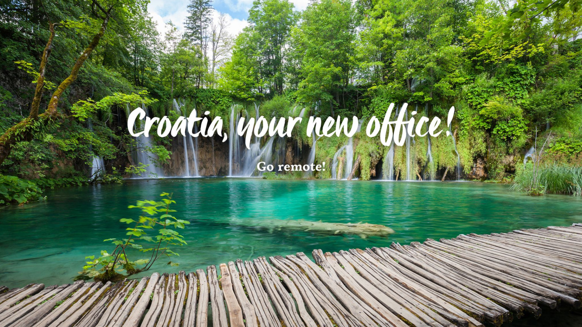 Croatia, Your New Office - Remote Work Campaign for Digital Nomads