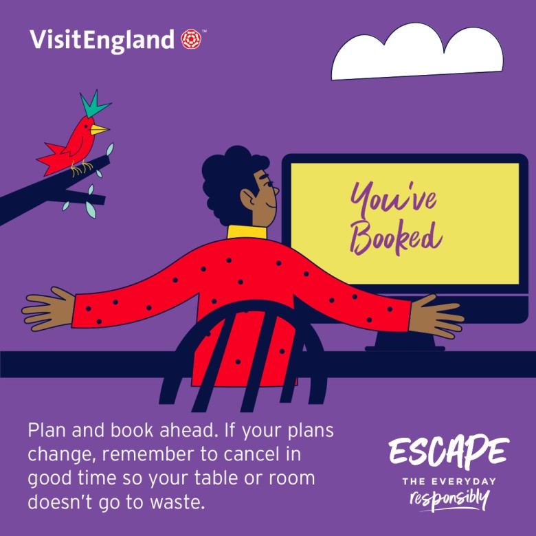 Escape The Everyday Responsibly Infographic 01 - Plan Ahead