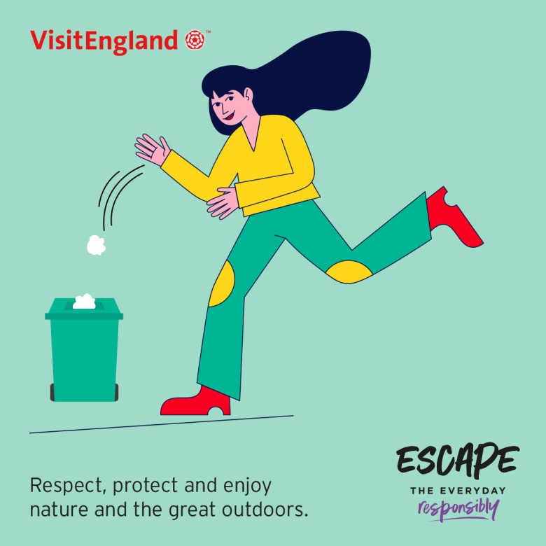 Escape The Everyday Responsibly Infographic 02 - Respect Nature