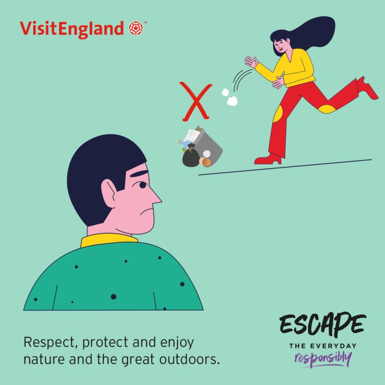 Escape The Everyday Responsibly Infographic 02 - Great Outdoor