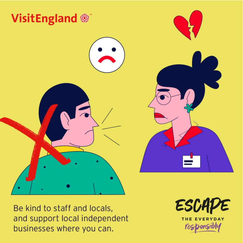 Escape The Everyday Responsibly Infographic 04 - Be Kind