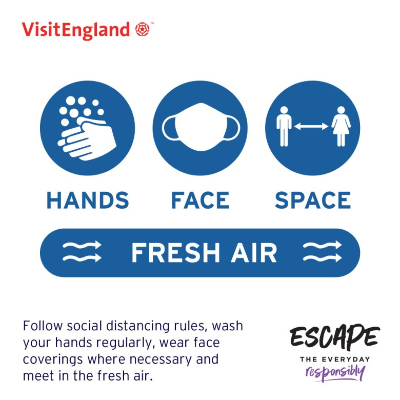 Escape The Everyday Responsibly Infographic 05 - Social Distancing Rules