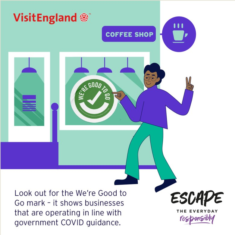 Escape The Everyday Responsibly Infographic 06 - We're Good To Go Mark