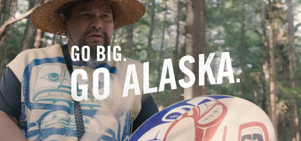 Go Big. Go Alaska. Summer Travel Campaign