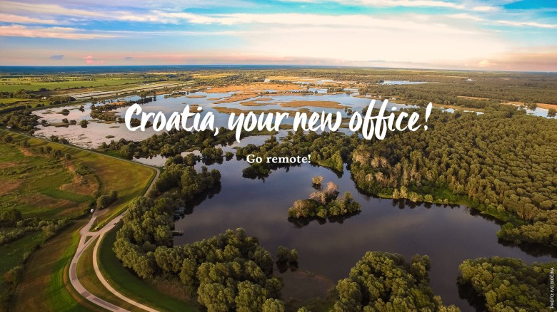 Go Remote. Croatia, Your New Office campaign for digital nomads