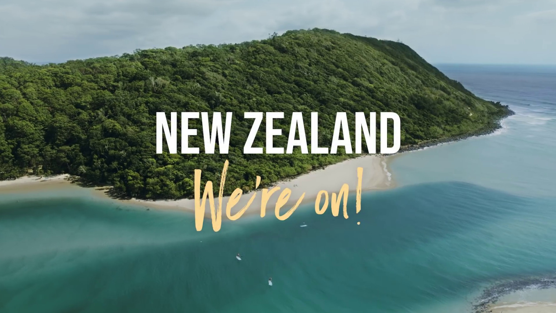 Travel Bubble Campaign of Destination Gold Coast for New Zealanders
