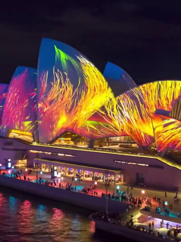 Vivid Sydney 2021, Celebration of Creativity, Innovation and Technology