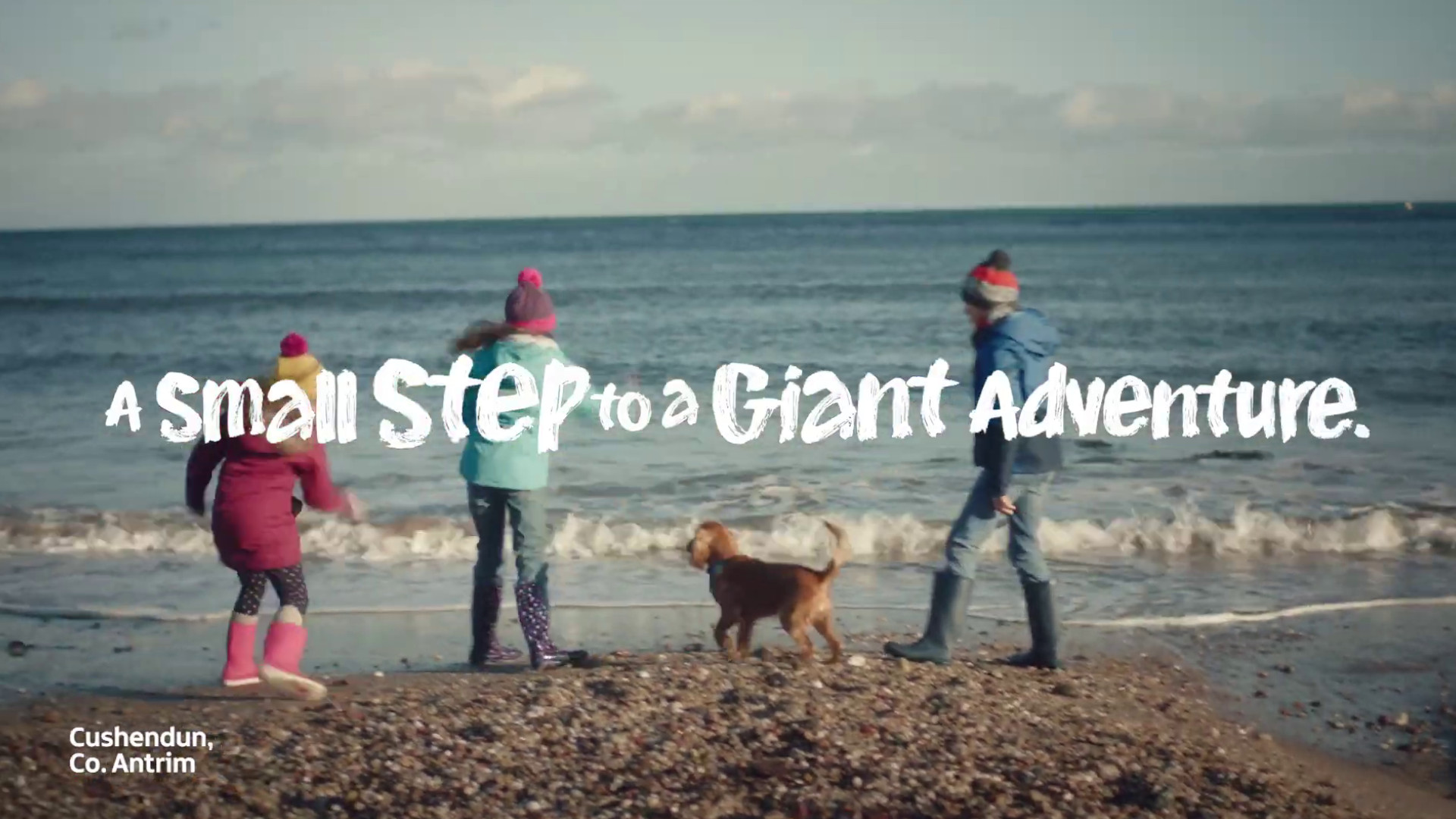 A Small Step to A Giant Adventure campaign of Northern Ireland