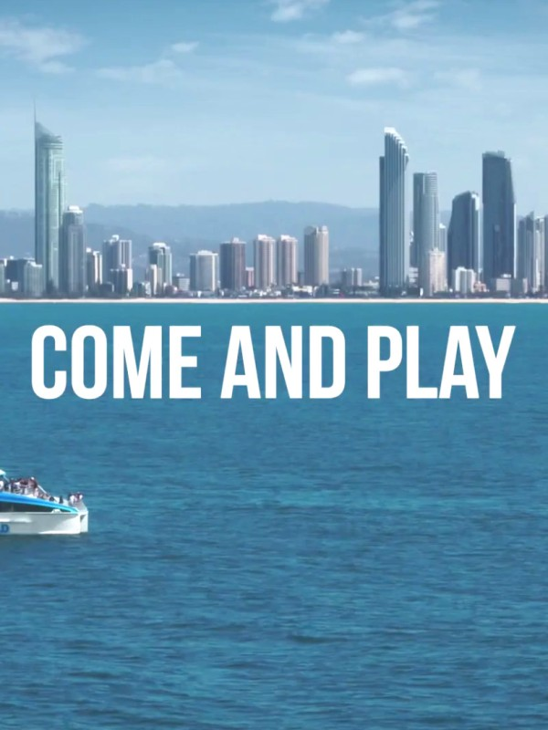Come and Play, 2021 Winter Campaign of Destination Gold Coast
