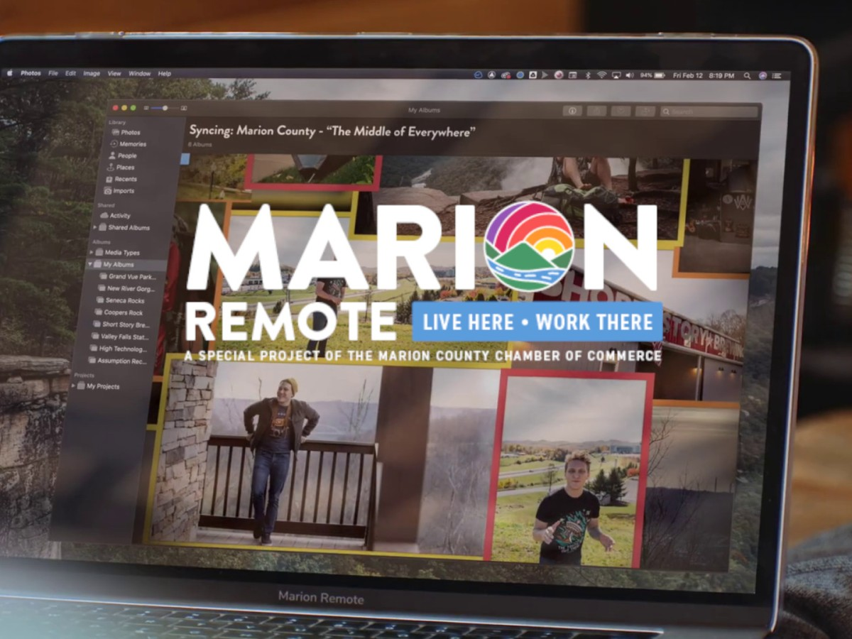 Marion Remote, Working Remotely in West Virginia