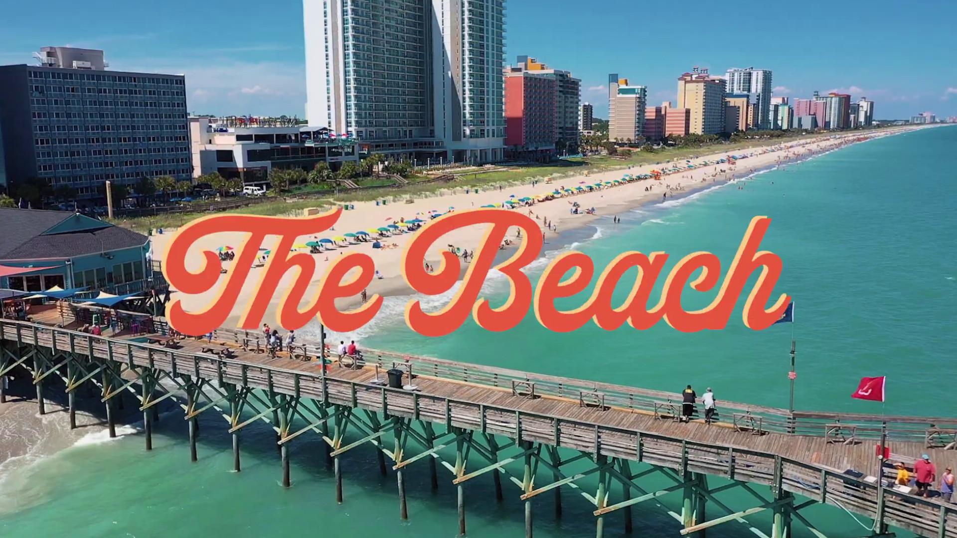 The Beach, Visit Myrtle Beach Brand Refresh