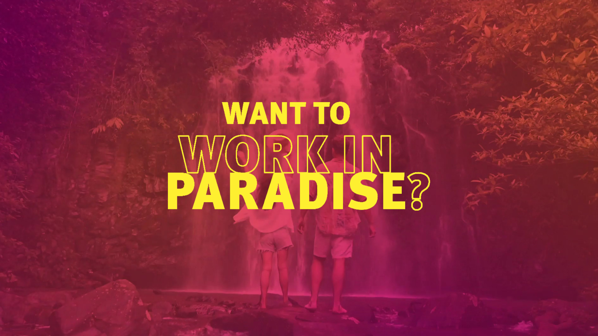 Work in Paradise, Tourism Job Seekers Campaign of Queensland