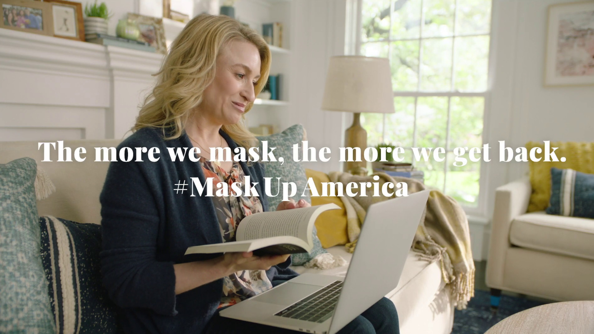 Mask Up America, Public Service Announcements by Ad Council
