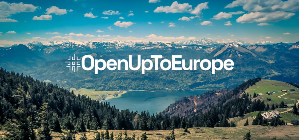 Open Up to Europe Tourism Marketing Campaign